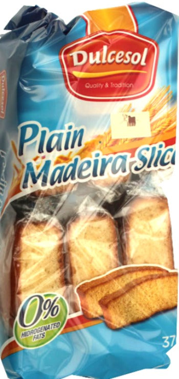 Dulce Sol Plain Madeira Slices