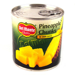 Del Monte Pineapple Cunks 430g tin
