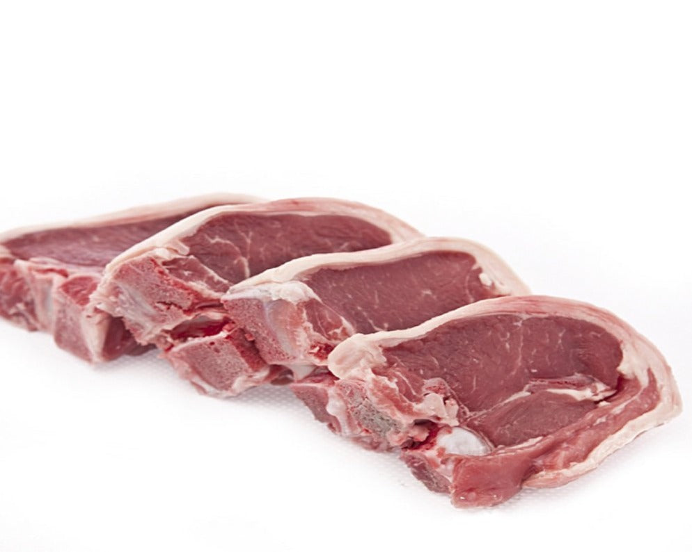 Lamb Back Chops 1kg Net- Halal