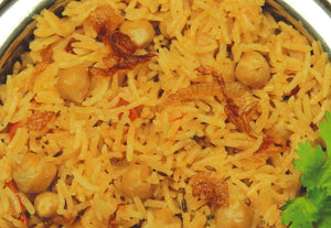 Chana Pilau (Cooked just Heat and Eat)