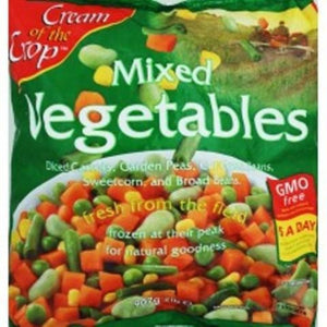 Frozen COC Mixed Vegetables 907g