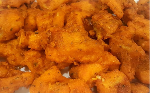 Fish Pakora 500g (Cooked just Heat and Eat)