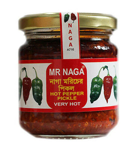 Mr Naga (Hot Pepper Pickle)