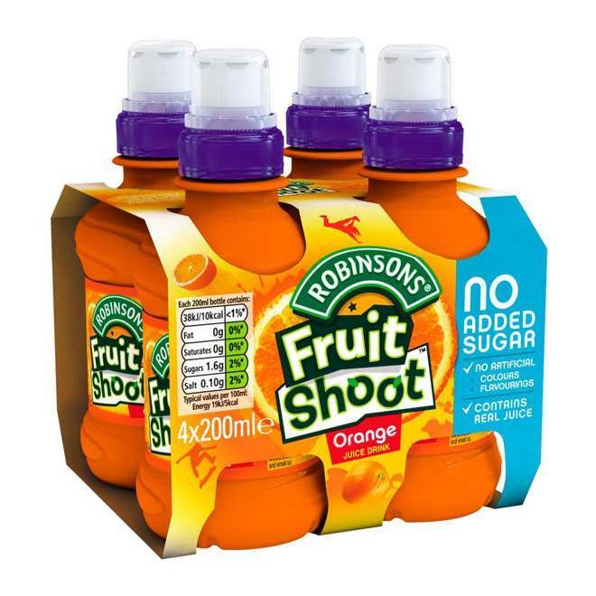 Fruit Shoot 200ml x 4 pack