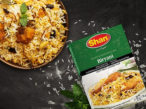 Shan Biryani  and Pilau Masala Mixes