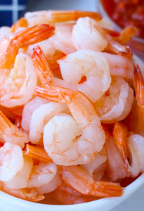 Prawn Cooked & Peeled Tail On - Size 41/50 - 500g