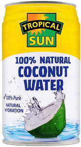 Coconut Water 100% Natural Tropical Sun