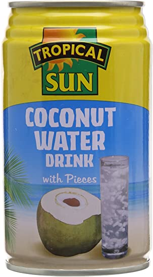 Coconut Water with Pieces Tropical Sun