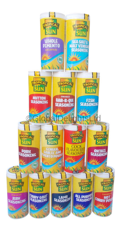 Tropical Sun Spice Tubs