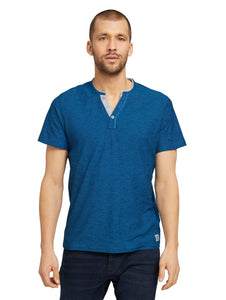 fine striped henley - 1026162