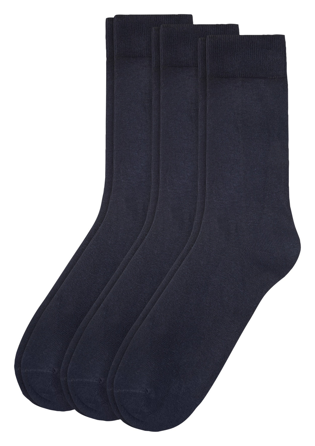 Unisex comfort cotton Socks 3p - 000003403