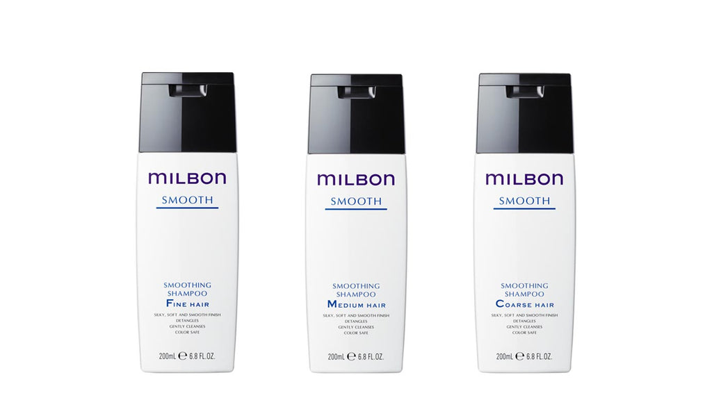 Global Milbon Smooth Shampoo (200ml)