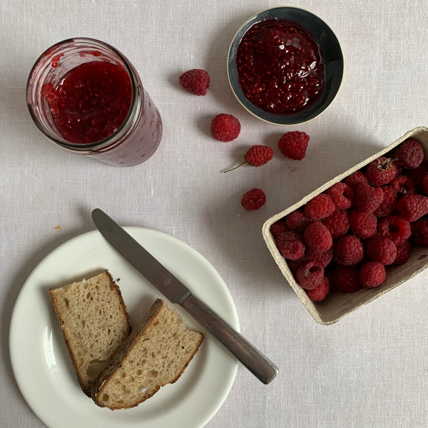 Raspberry and Verbena Jam