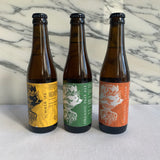 Gilt and Flint, Organic Brewhouse, Trio