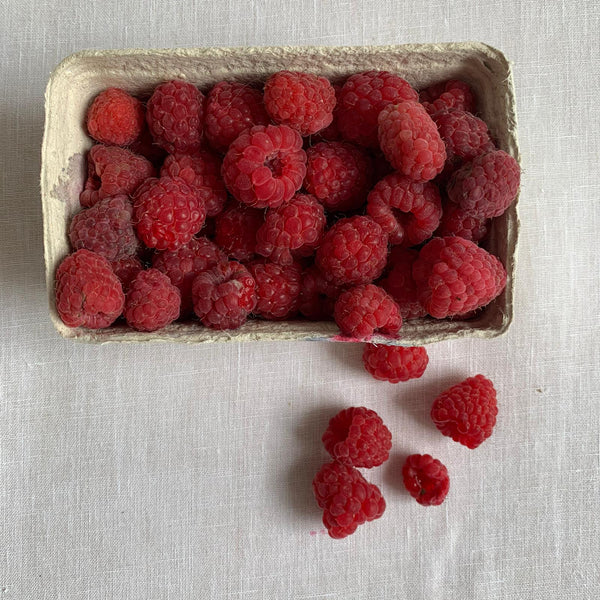 A Punnet of Raspberries