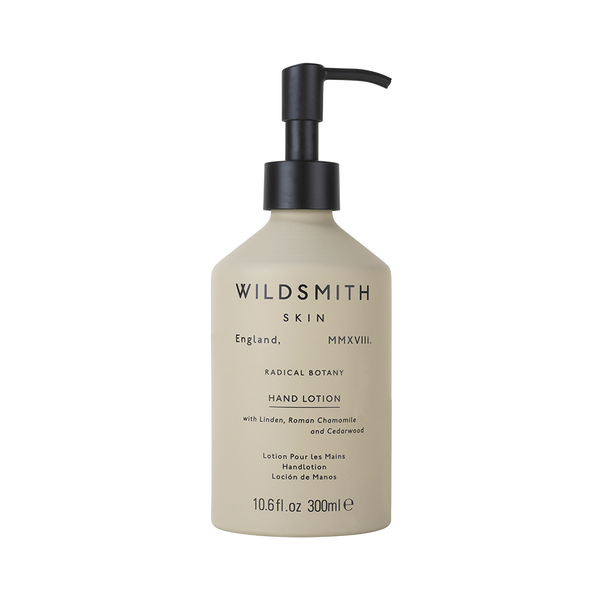 Wildsmith Hand Lotion with Linden, Roman Chamomile and Cedarwood
