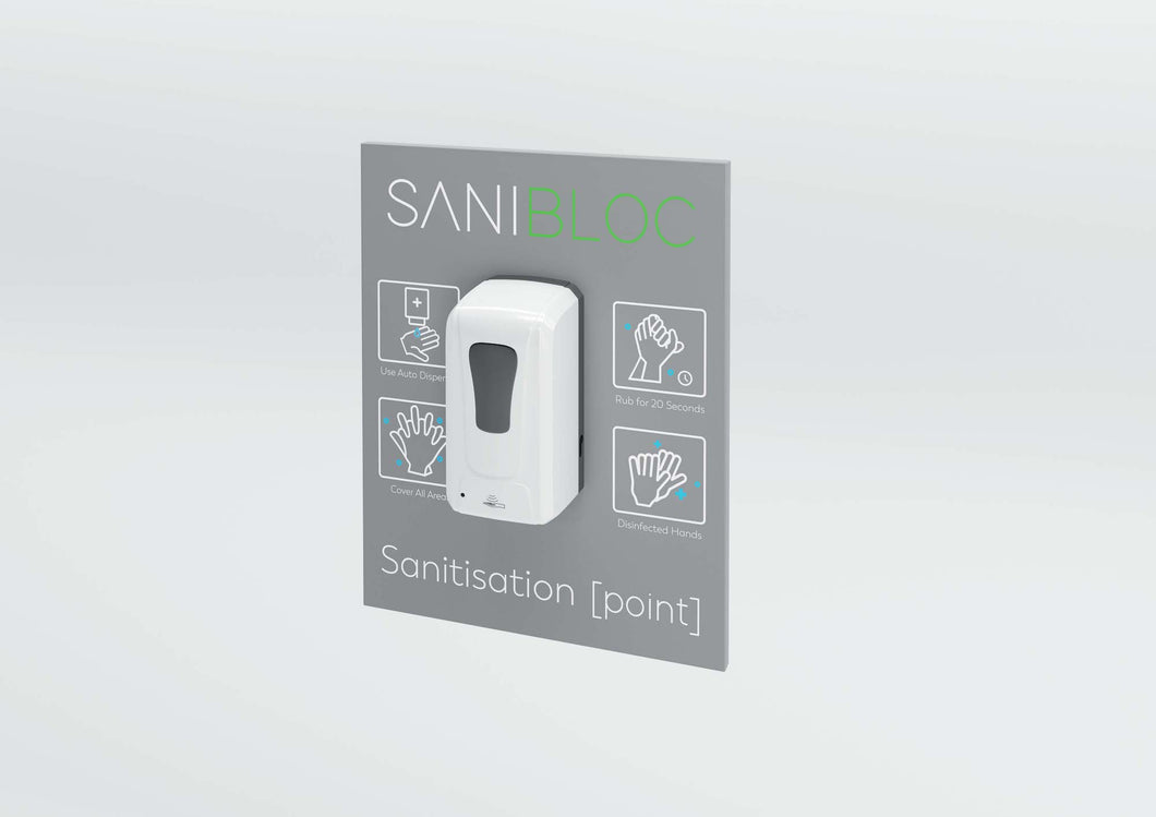 Sanitiser Station - Wall Mounted Automatic POD 50