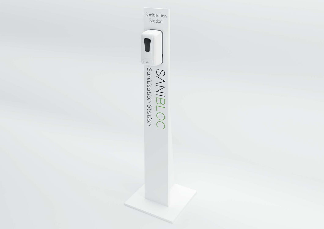 Sanitiser Station - Free Standing Automatic POD 75