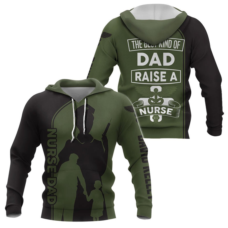 Nurse Dad Father's Day Gift- 3D Print Full Clothing - GnWarriors Clothing