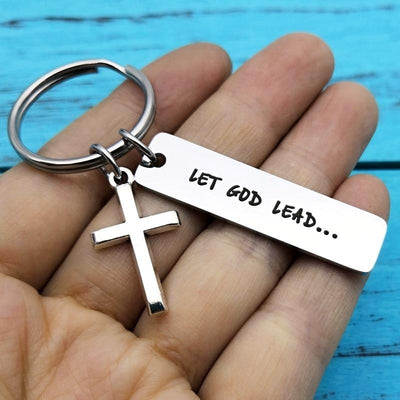 Let God Lead Keychain - GnWarriors Clothing
