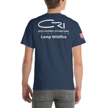 Load image into Gallery viewer, CRI Deployment // Paradise Fires Unisex T-Shirt