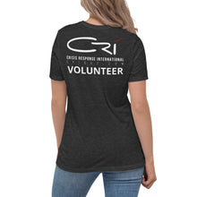 Load image into Gallery viewer, CRI Volunteer Responder // Women's Relaxed T-Shirt