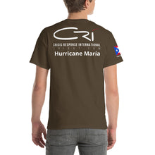 Load image into Gallery viewer, CRI Deployment // Hurricane Maria Unisex T-Shirt