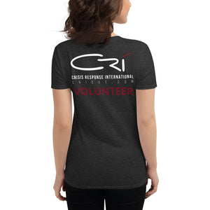 CRI Responder // Fashion Fit // Women's Short Sleeve T-Shirt
