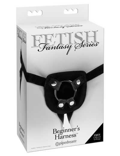 Fetish Fantasy Series Stay-Put Harness - Black - Pikante Tienda Erotica