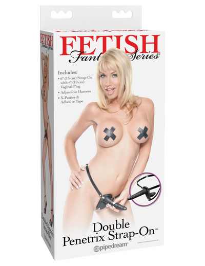 Fetish Fantasy Series Double Penetrix Strap-on - Pikante Tienda Erotica