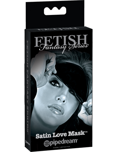 Fetish Fantasy Series Limited Edition Satin Love Mask - Black - Pikante Tienda Erotica