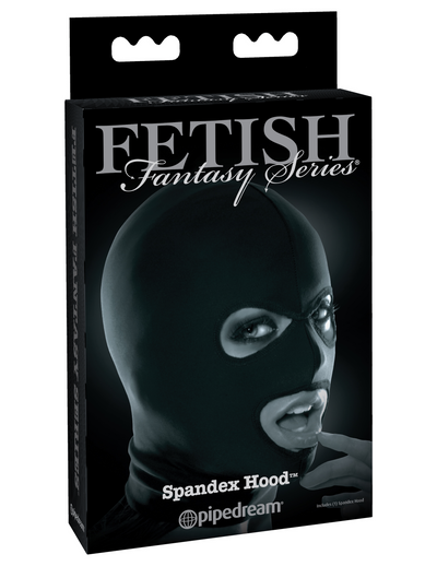 Fetish Fantasy Series Limited Edition Spandex Hood - Black - Pikante Tienda Erotica