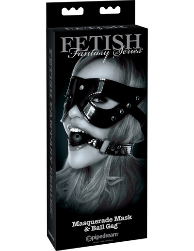 Fetish Fantasy Series Limited Edition Masquerade Mask & Ball Gag - Pikante Tienda Erotica
