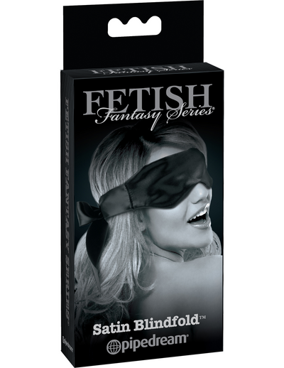 Fetish Fantasy Series Limited Edition Satin Blindfold - Black - Pikante Tienda Erotica