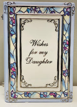"Load image into Gallery viewer, Ardleigh Elliott ""Wishes for my Daughter"" Heirloom Porcelain Musical Book"