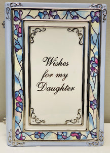 "Ardleigh Elliott ""Wishes for my Daughter"" Heirloom Porcelain Musical Book"