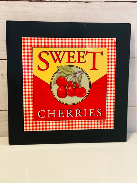 Sweet Cherries by Stephanie Marrott