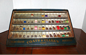 Coats and Clark's display