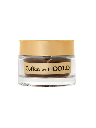 COFFEE WITH GOLD 23KT
