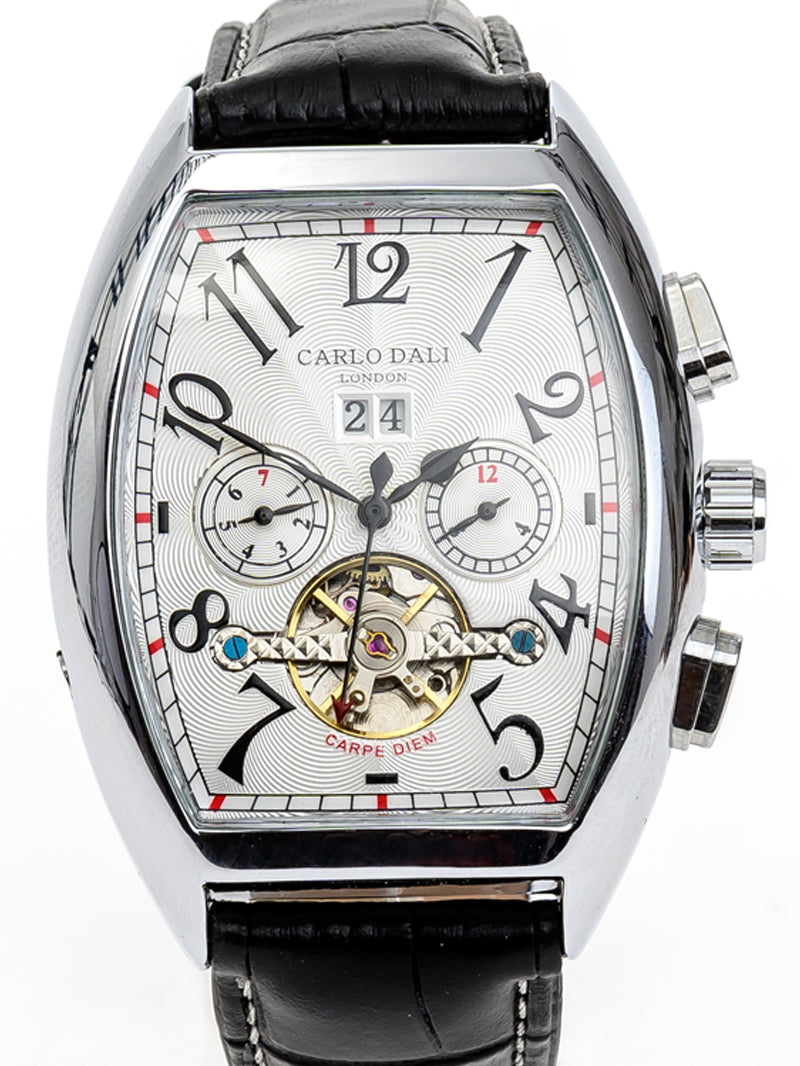 CARLO DALI Casablanca Tourbillon White Moonphase