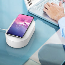 Load image into Gallery viewer, UV Mobile Phone Sterilizer Box / Wireless Charger
