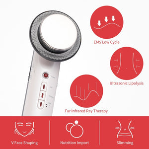 Ultrasound Face Body Slimming Massager
