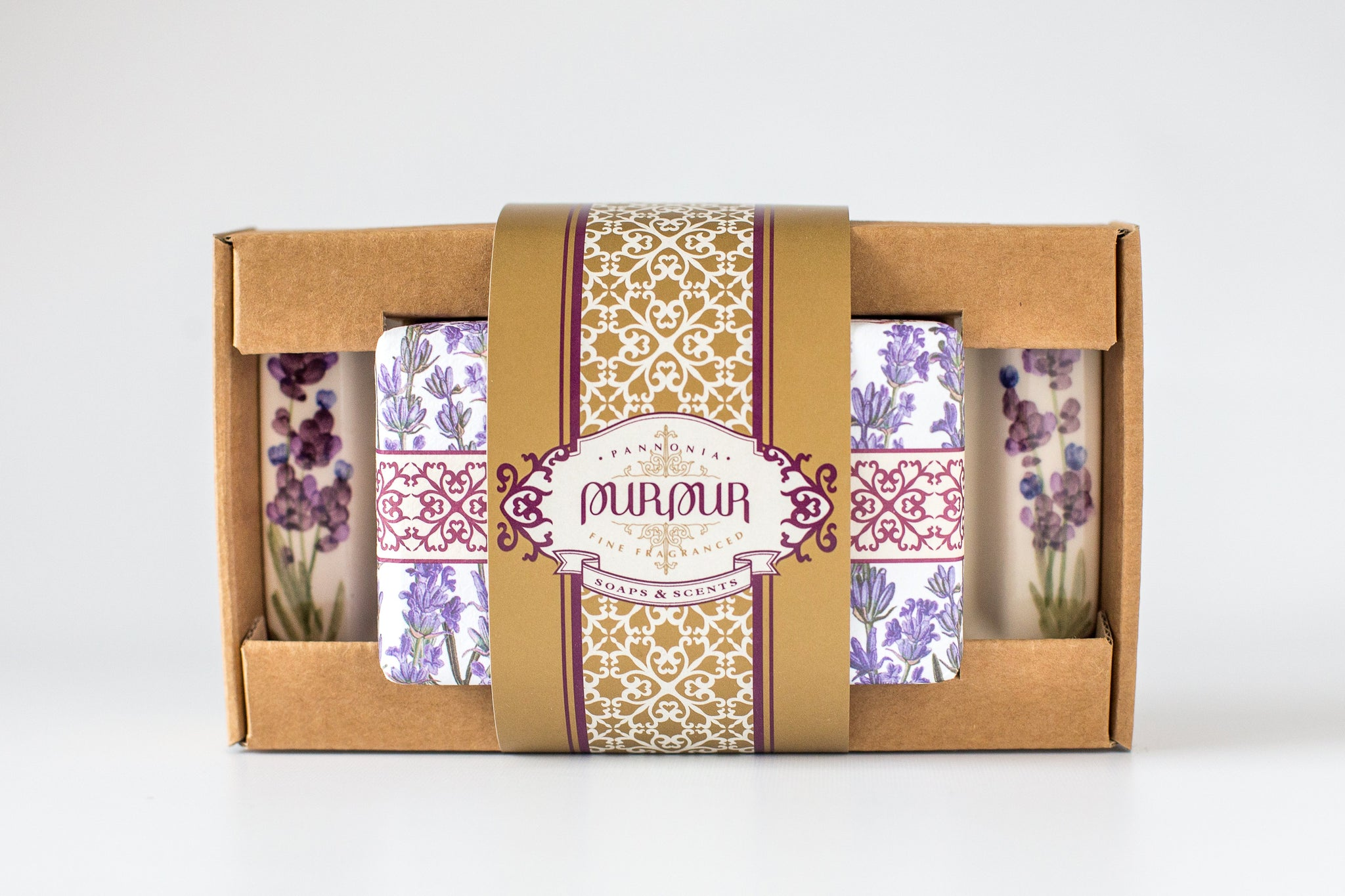 Soap and Flat Set Lavender