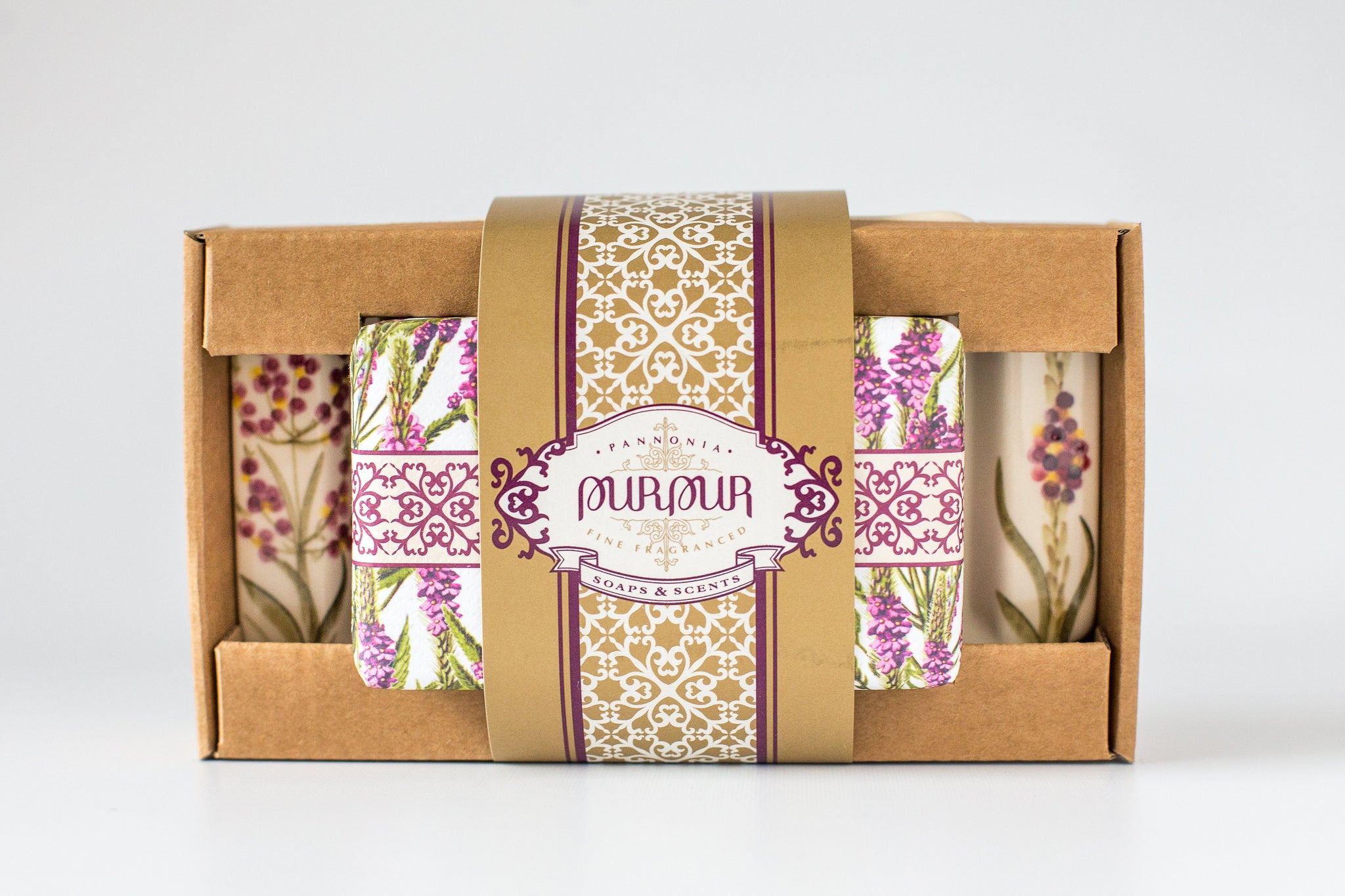 Soap and Flat Set Verbena