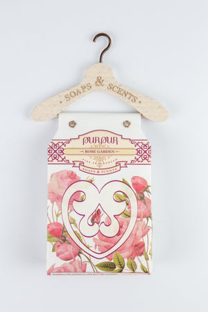 Soap Heart with Hanger Rose Garden