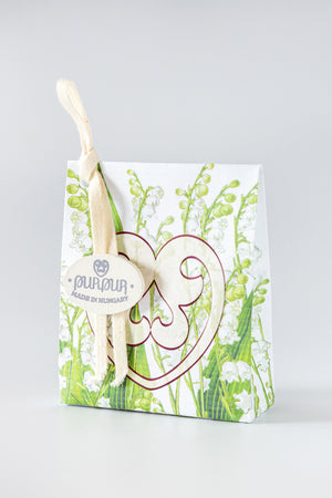 Soap Heart with Logo Lily of the Valley