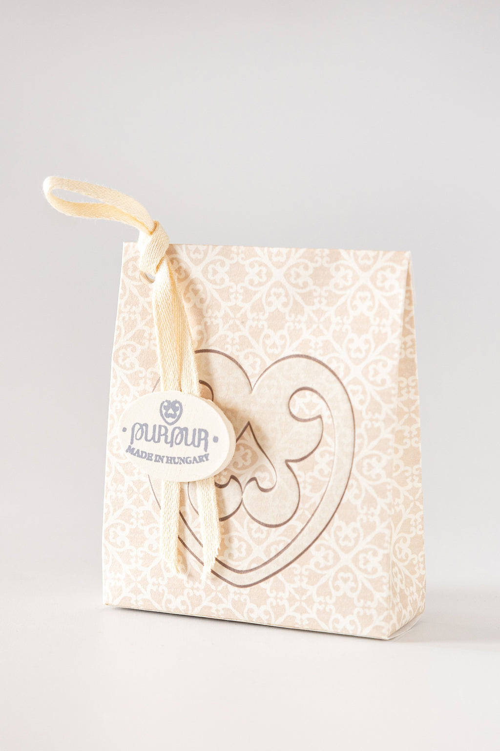 Soap Heart with Logo Silk&Secret