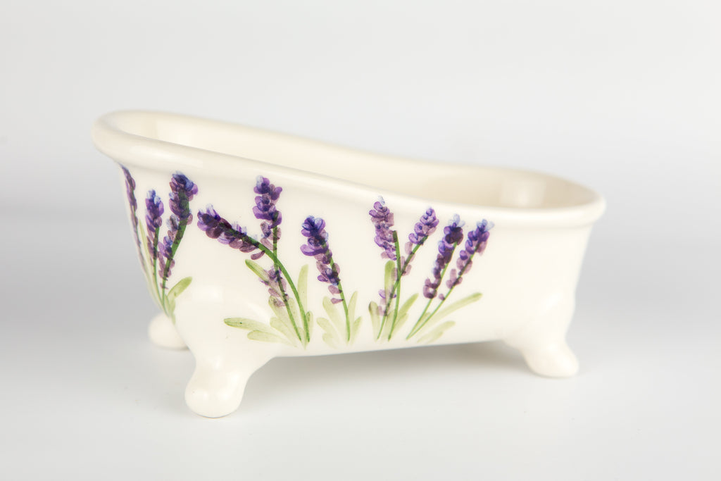 Soap Holder Bathtub Lavender