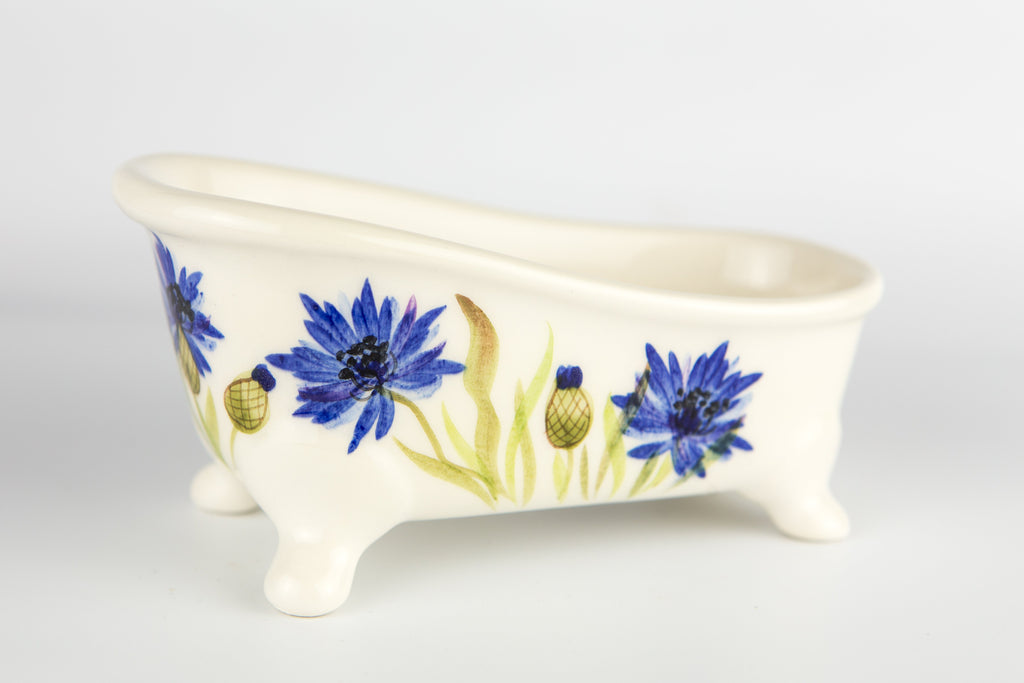 Soap Holder Bathtub Cornflower