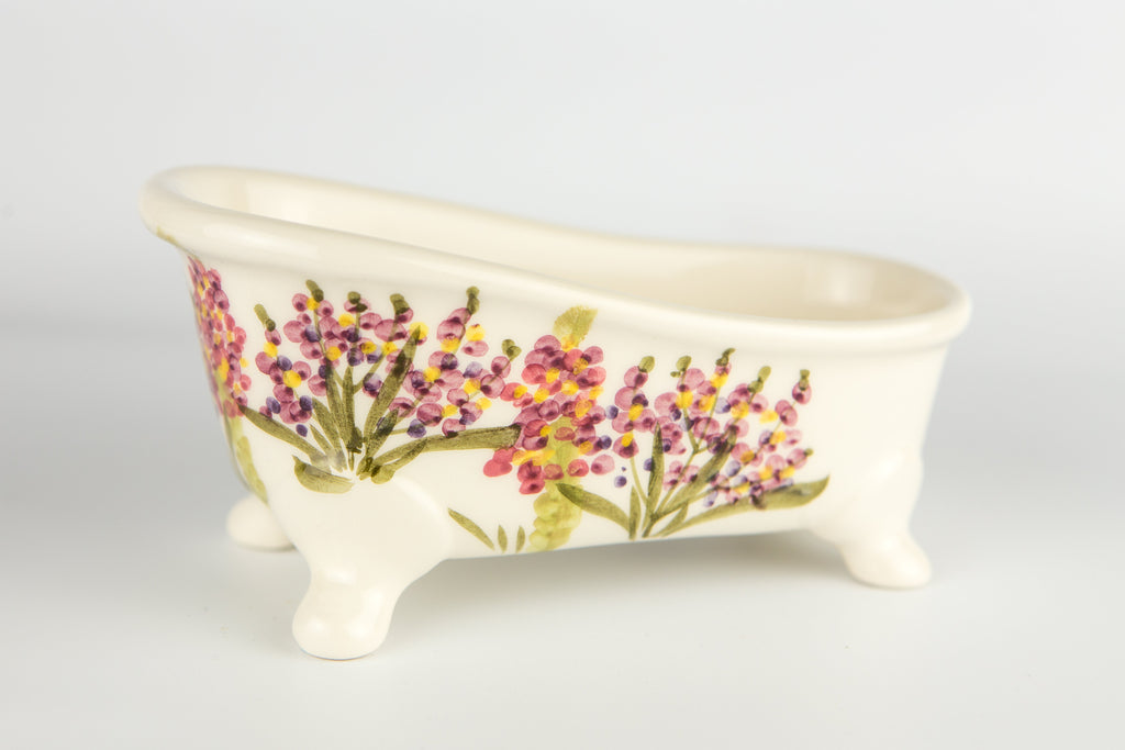 Soap Holder Bathtub Verbena